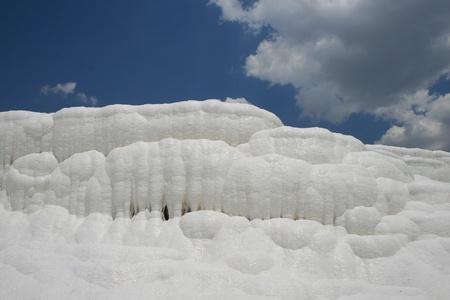 pamukkale: Pamukkale terraces Stock Photo