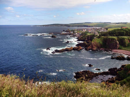 voluntary: St Abbs, a Scottish fishing village on the Firth of Forth lies next to the Internationally famous St Abbs Head Nature Reserve and the St Abbs and Eyemouth Voluntary Marine Reserve