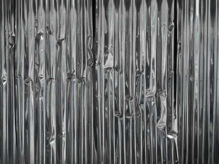 Corrugated Galvanized Steel Plate, texture background Stock Photo
