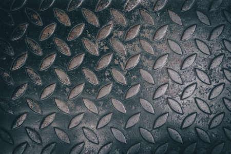 diamond plate: close up diamond steel plate background