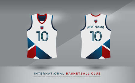 basketball t-shirt design uniform set of kit. volleyball jersey template.