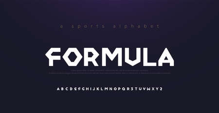 Sport Modern Alphabet Font. Typography diamond concept fonts for movie fashion formula technology, sport, racing logo design. vector illustration