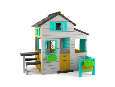 toy house: Toy house isolated