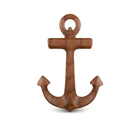 Anchor isolated on white background 写真素材