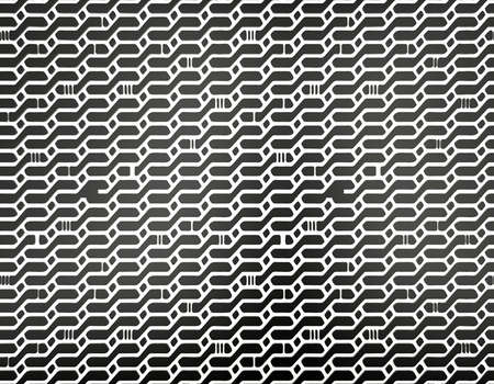 seamless pattern background: Schwarz und wei� abstrakte nahtlose Muster Hintergrund