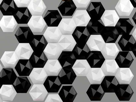 pattern: Hexagon abstract background