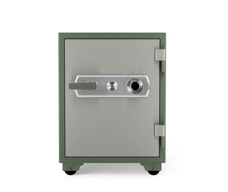 safe box: Safe box isolated