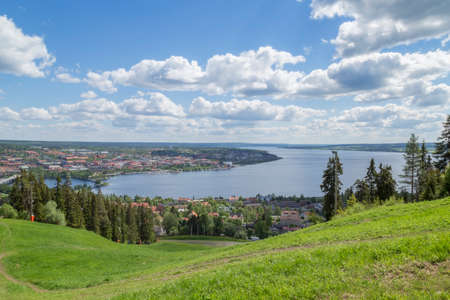 the city ostersund in sweden