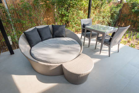 round chairs: Round sofa, Dining table and Chairs
