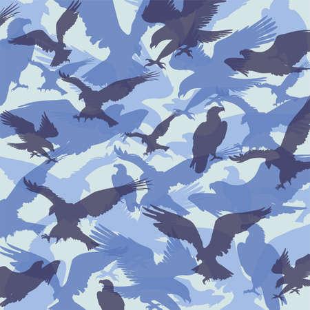 camouflage eagle navy