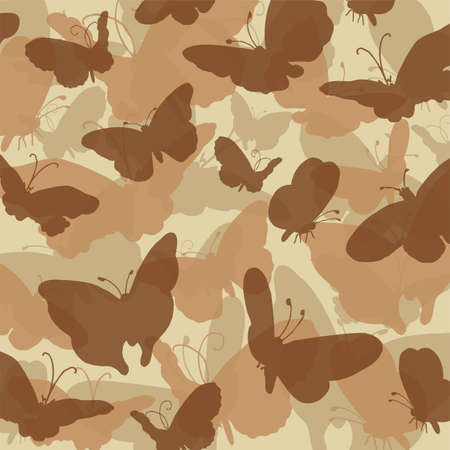 Camouflage butterfly desert