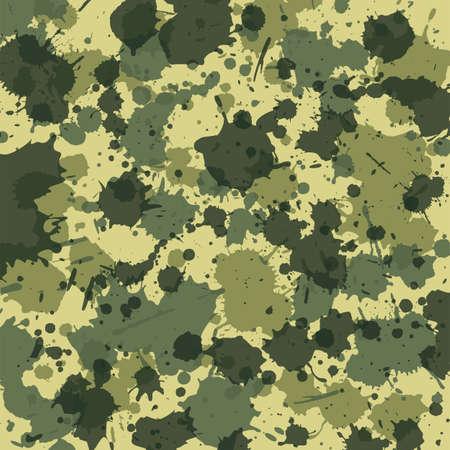 Camouflage splash green