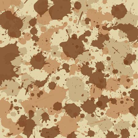 Camouflage splash desert