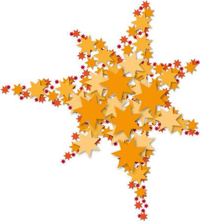 Stars in the star Illustration