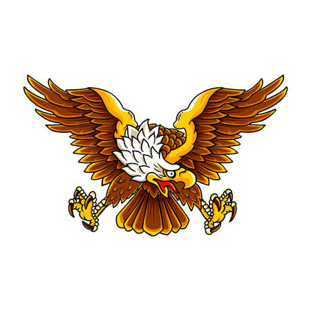 Bald Eagle Ilustración de vector
