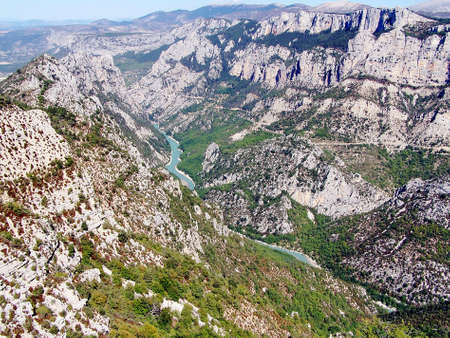 Verdon gorges 3 Stock Photo