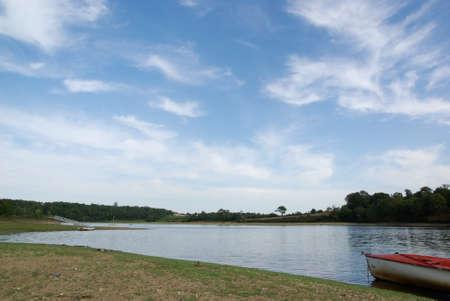 Jaunay lake 3 Stock Photo