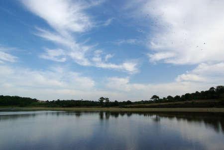 Jaunay lake 5 Stock Photo