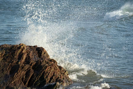 Wave breaking 4 Stock Photo