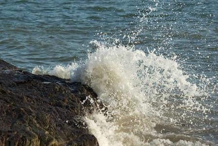 Wave breaking 6