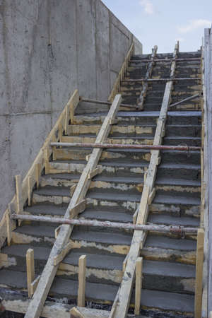 Stairway to new opportunities, build your career.  photo