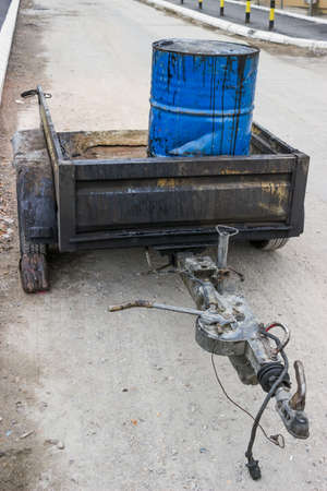 emulsion: Bitumen Emulsion, package in 200 litre steel drums. These liquid products are functional in use and find a wide application in road construction and maintenance.