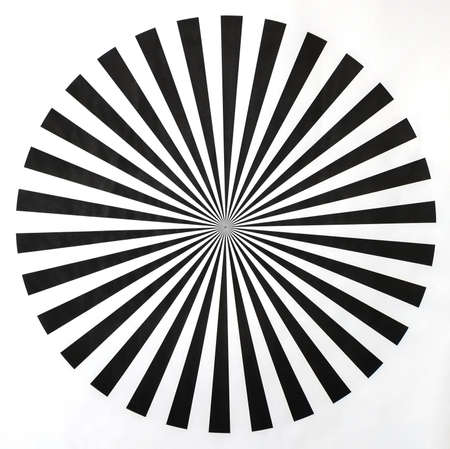 Kreis optische Täuschung, schafft das, was als eine Bewegung nach Wirkung bekannt ist. Standard-Bild - 51012369