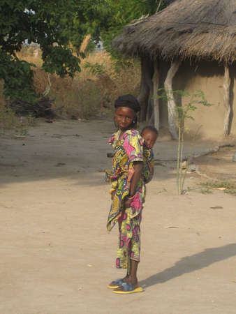young girl in Africa