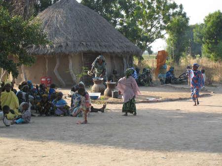 rural development: african village