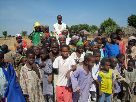 group of children in Cameroon