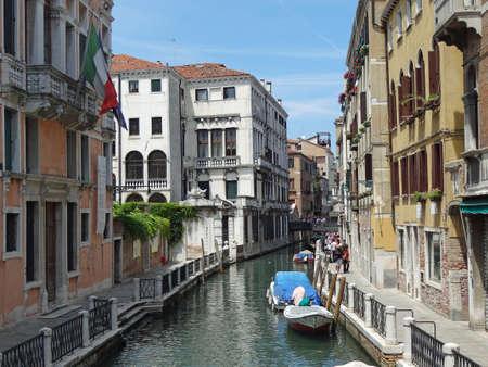 canal de Venise                                Banque d'images