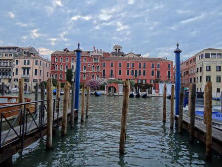gondolas on grand canal in Venice                               Stock Photo - 9870148