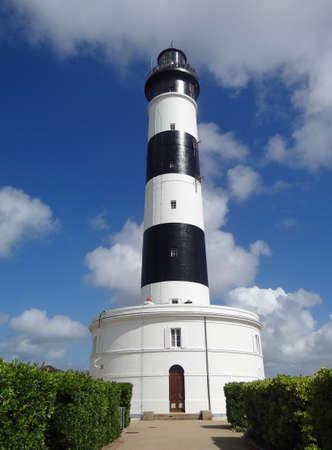 Chassiron lighthouse on Oleron island Stock Photo - 10358881