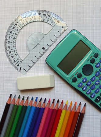 school supplies                               Stock Photo - 10505946