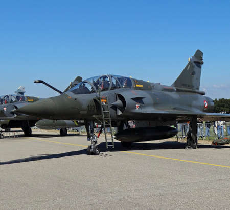 a mirage:   airplane mirage 2000 D