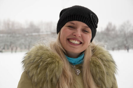 young smiling woman portrait