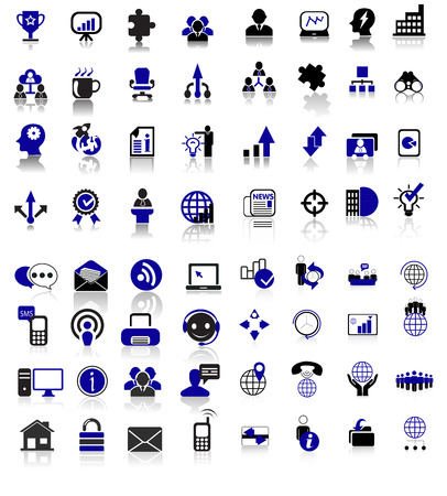 Sales and communication icons set of editable filled and outline sales and communication icons: money growth, graph, dolar growth, ticket on sale, sale, sale tag, chart, chat,globe,meetings,people Illustration