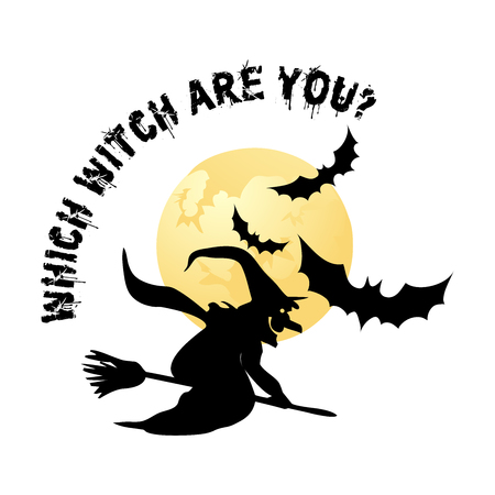Halloween design with halloween slogans for t shirts, postcards,party themes,banners