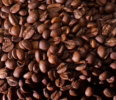 Coffee beans natural background Stock Photo - 8770935