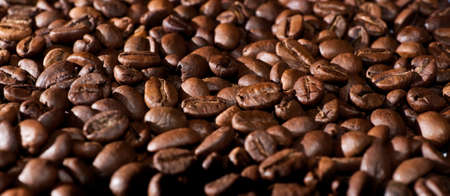 Coffee beans natural background Stock Photo - 8770856