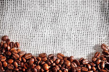 Coffee beans background Stock Photo - 8770944