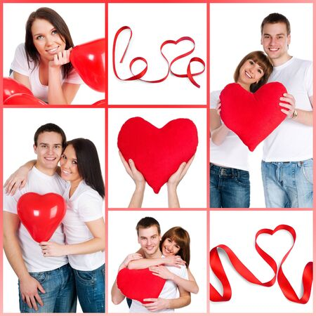 set of images to Valentine's Day Stock Photo - 9006105