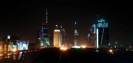 General view of Dubai Metro photo
