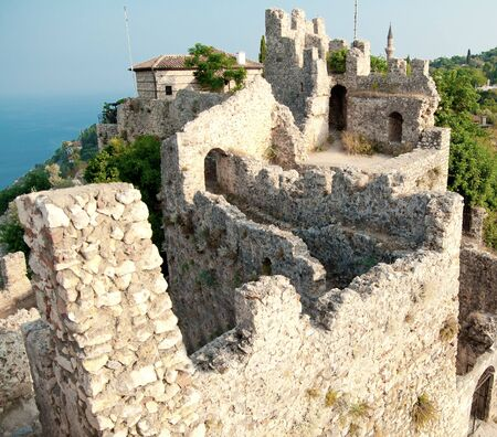 fortify: fortress walls in Alania, Turkey