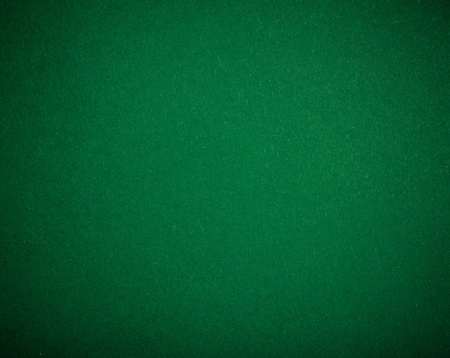 Pokertafel gevoeld achtergrond in groene kleur Stockfoto