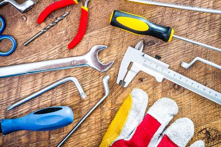 家の修理のためのツールのセット