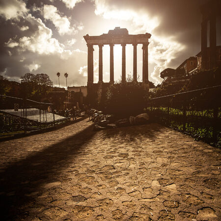 Roman Forum in Rome, Italy photo
