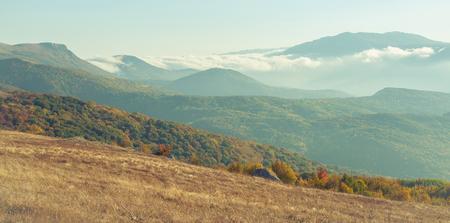 beautiful mountain landscape in Crimea photo