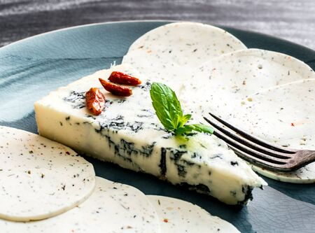 flavorings: delicious blue cheese  and spices