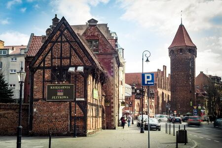 gdansk: Gdansk, Poland - March 14, 2014: Historical Old Town of Gdansk in Poland
